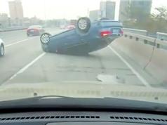 """Clip: Trả giá đắt vì vượt xe kiểu """"tự sát"""""""