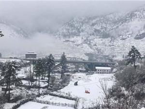 Bhutan đẹp lạ lùng dưới trời tuyết phủ trắng xóa