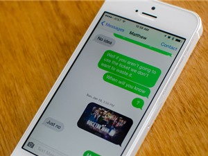 Hướng dẫn thay đổi giao diện, tạo kiểu tin nhắn cho iMessage trên iOS