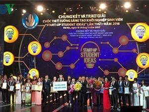 """Dự án """"Smart water"""" giành giải nhất cuộc thi Ý tưởng sáng tạo khởi nghiệp sinh viên lần thứ I"""