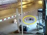 Clip: Nam thanh niên gặp tai nạn nghiêm trọng vì chạy xe quá tốc độ