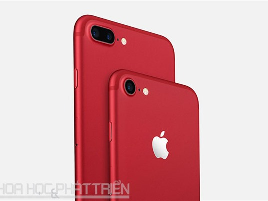 Apple ra mắt iPhone 7 và iPhone 7 Plus phiên bản màu đỏ, giá không đổi
