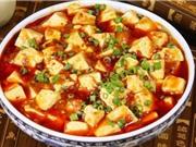 Cách làm món đậu hủ sốt cay Tứ Xuyên chay ngon đúng điệu