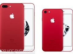 Lộ giá bán iPhone 7 và iPhone 7 Plus màu đỏ ở Việt Nam
