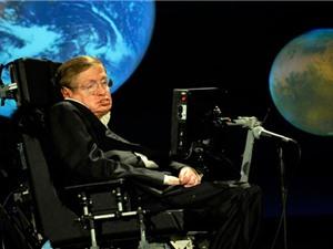 """""""Ông hoàng"""" vật lý Stephen Hawking sẽ bay vào vũ trụ"""