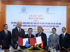 Bộ Khoa học và Công nghệ ký kết bản ghi nhớ với WIPO