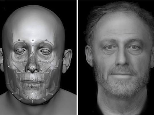 Phục dựng thành công khuôn mặt người đàn ông sống ở 700 năm trước