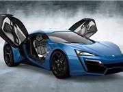 Top 10 siêu xe đắt nhất năm 2017