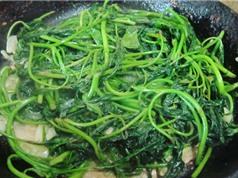 Tuyệt chiêu chế biến món rau khoai xào mẻ