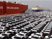 Lượng xe con nhập về Việt Nam 3 tháng tăng cao kỷ lục