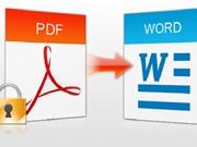 Hướng dẫn chuyển đổi file PDF sang Word bằng phần mềm