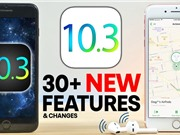 Apple ra iOS 10.3 giúp tiết kiệm bộ nhớ cho iPhone, iPad