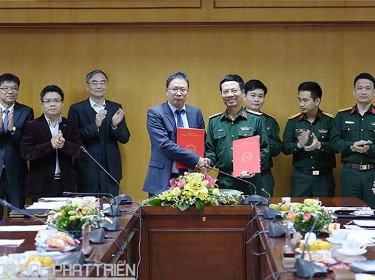 Viettel và Viện Hàn lâm KH&CN Việt Nam hợp tác phát triển ứng dụng công nghệ vệ tinh