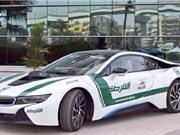 """""""Điểm danh"""" 10 siêu xe của lực lượng cảnh sát Dubai"""