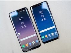 """Samsung ra mắt Galaxy S8, Galaxy S8 Plus: Màn hình """"vô cực"""", tốc độ 4G 1 Gbps"""