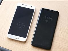 """Clip: Samsung Galaxy S8 """"so dáng"""" với Galaxy S7"""