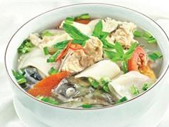 Bí quyết nấu món canh chua đầu cá hồi