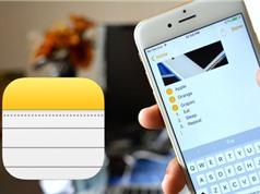 Hướng dẫn chia sẻ ghi chú trên iOS 10