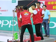 23 đội tuyển bắt đầu tranh tài tại vòng loại Robocon Việt Nam 2017 phía Nam