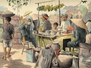 Ký họa tuyệt đẹp về Nam Bộ 100 năm trước (Phần I)