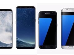 Sự khác biệt giữa Samsung Galaxy S8, S8 Plus với Galaxy S7, S7 Edge