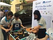 Chùm ảnh: Học sinh háo hức tiếp cận STEM trong ngày hội HUS Open Day