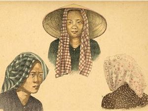 Ký họa tuyệt đẹp về Nam Bộ 100 năm trước (Phần II)