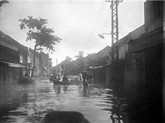 Ảnh độc về trận lụt lịch sử ở Hải Dương năm 1926