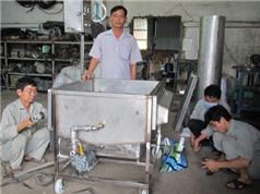 Sáng chế bồn chiên làm lợi cả tỷ đồng cho doanh nghiệp