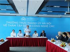 Bí thư Hoàng Trung Hải thăm Tập đoàn CMC