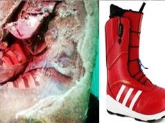 Xác ướp phụ nữ 1.000 năm đi 'giày thể thao' hiện đại