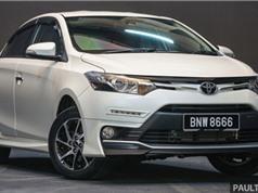 Toyota Vios mới trang bị camera 360 độ xung quanh xe