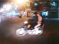 Clip: Suýt bị ôtô tông ở Đà Lạt vì chạy xe máy ẩu