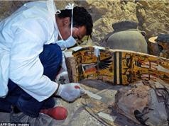 Phát hiện kho báu với 8 xác ướp ở Ai Cập