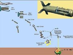 """Sức công phá """"khủng khiếp"""" của bom """"siêu chùm"""" CBU-105"""