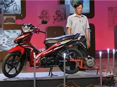 Xe máy phát điện - sản phẩm của nhà sáng chế Việt Nam