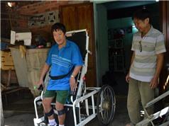Giường đa năng dành cho người bị liệt - sản phẩm của nhà sáng chế Việt Nam