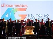 Khai trương mạng 4G đầu tiên ở Việt Nam: Không để người dân nào đứng ngoài dòng chảy công nghệ