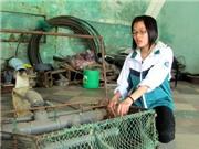Máy bắt ngao vạng - sản phẩm của nhà sáng chế Việt Nam