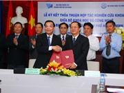 Bộ KH&CN và ĐH Quốc gia TPHCM ký kết thỏa thuận hợp tác nghiên cứu khoa học