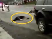 Clip: Kinh hoàng cảnh ô tô lao thẳng vào nhóm 7 nữ sinh