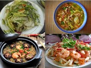 Món ngon trong tuần: Cá trắm hấp bia, bò hầm dưa chua, lưỡi heo xào lăn