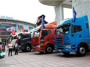 Vietnam AutoExpo 2017 - đất diễn cho xe tải, xe buýt