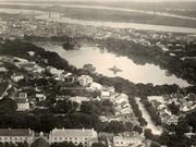 Những bức ảnh cực hiếm về Hà Nội thời thuộc địa nhìn từ trên không