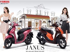 Yamaha bổ sung 2 màu sắc thời thượng cho xe Janus, giá không đổi
