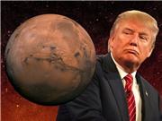 Donald Trump và giấc mơ sao Hỏa