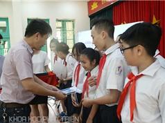 """100 học sinh trường THCS Trưng Vương nhận giải  """"Ý tưởng sáng tạo 2017"""""""