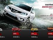 """Nissan tung chương trình khuyến mãi """"khủng"""" tháng 5/2017"""