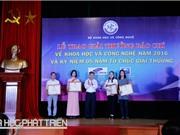 Báo Khoa học và Phát triển đoạt giải Nhất báo chí về KH&CN
