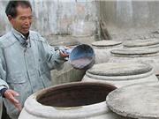 Yêu cầu với muối và dụng cụ sản xuất mắm tôm Hậu Lộc